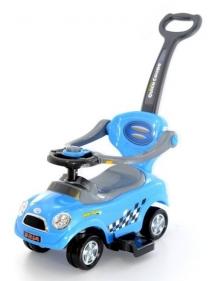Odstrkovadlo,odrážedlo 3v1 AUTO- modré