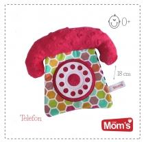 Edukační hračka Hencz s pískátkem TELEFON