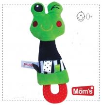 Edukační hračka Hencz s pískátkem, kousátkem ŽABKA