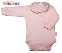 Body dlouhý rukáv Baby Nellys® s límečkem -…