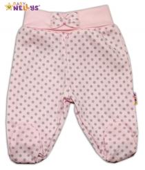 Polodupačky Baby Nellys® - PUNTÍKY - sv.růžové/sv…