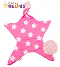 Mazlík pro nejmenší látkový Baby Nellys ® - Stars…