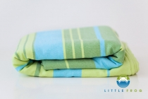 Little FROG Tkaný šátek na nošení dětí s bambusem…