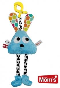 Edukační hračka Hencz DLOUHONOŽKA - modrá