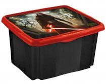 Box na hračky Star Wars  24 l - černý