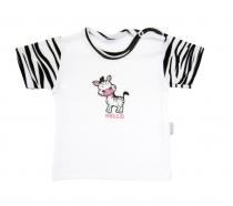 Tričko/košilka krátký rukáv Mamatti - Zebra v ZOO