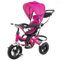 075e3b62edef6 Dětská tříkolka Euro Baby s vodící tyčí 2019 - růžová, K19