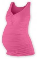 Těhotenský topík JOLANA - růžová