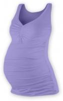 Těhotenský topík JOLANA - šeříková
