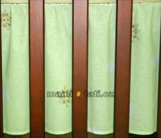 Krásný volánek pod matraci - Městečko zelené