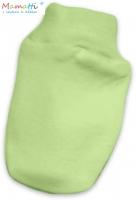 Kojenecké rukavičky - zelená