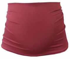 Těhotenský pás - bordo