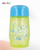 Plastová lahvička AKUKU - zelená