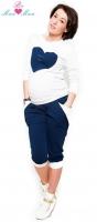 Sportovní, elegantní 3/4 kalhoty Tessi - grantové
