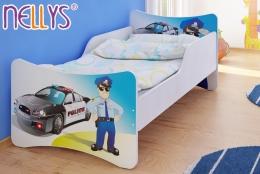 Dětská postel POLICE