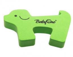 Blokáda dveří Baby Ono - zelený pejsek
