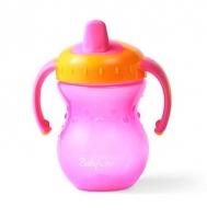 Naučný hrníček Baby Ono, 9m+ - růžový/oranžový