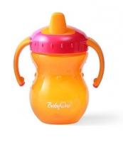 Naučný hrníček Baby Ono, 6m+ - oranžový/růžový