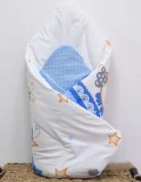 Zavinovačka Sovičky modré s výztuží zad