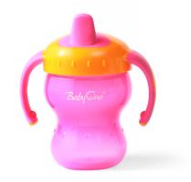 Naučný hrníček Baby Ono, 6m+ - růžový/oranžový