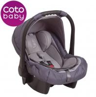 Autosedačka 0 - 13kg Coto Baby Latina - šedá
