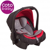 Autosedačka 0 - 13kg Coto Baby Latina - červená
