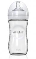 Skleněná lahvička AVENT - 240ml