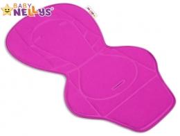 Vložka do kočárku Baby Nellys ® - růžová