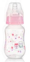 Antikoliková lahvička standart Baby Ono - růžová