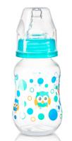 Antikoliková lahvička standart Baby Ono - zeleno-modrá