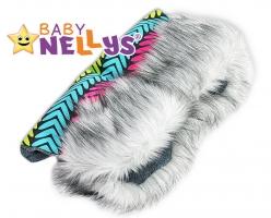 Rukávník ke kočárku s kožešinkou Baby Nellys ®LUX Eskymo - 01