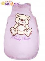 Spací vak TEDDY BEAR Baby Nellys - lila vel. 2