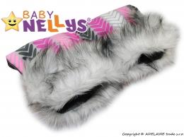 Rukávník ke kočárku s kožešinkou Baby Nellys ®LUX Eskymo - 05