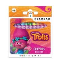 Voskovky Trollové, 12 barev