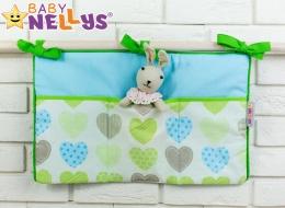 Praktický kapsář na postýlku Baby Nellys ® - č. 12
