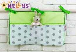 Praktický kapsář na postýlku Baby Nellys ® - č. 16