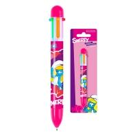 Kuličkové pero vícebarevné Šmoulové