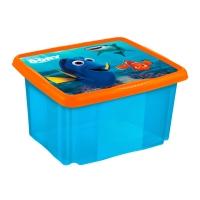 Box na hračky Hledá se Dory  24 l - modrý