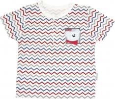 Polo tričko krátký rukáv Mamatti - Zvířátka zigzag