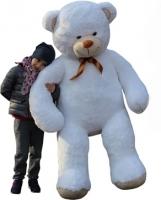 Plyšový Medvěd XXL Baby Nellys 180cm - bílý