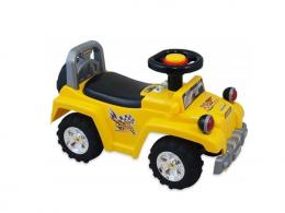 Dětské jezdítko Baby Mix se zvukem  - žluté