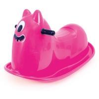 Plastová houpací příšerka - růžová