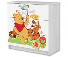 Disney dětská komoda - Medvídek PÚ a tygřík