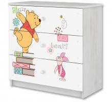 Disney dětská komoda - Medvídek PÚ a prasátko