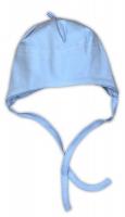 Bavlněná čepička NICOL - modrá