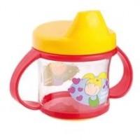 Hrneček Canpol Babies s tvrdým pítkem - Chlapeček a holčička