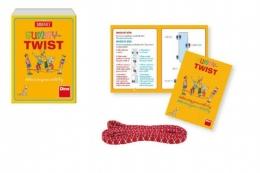 Gummy twist skákací společenská hra v krabičce 12x16x5cm