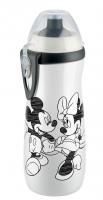 NUK  Cup láhev 450 ml - MICKEY bílá