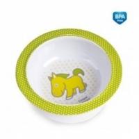 Melaminová miska s přísavkou Canpol Babies - Koníček