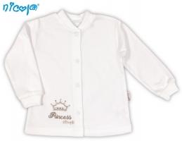 BIO kojenecká bavlněná košilka NICOL PRINCEZNA